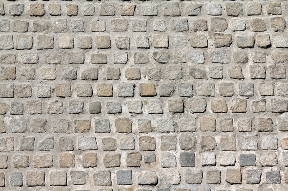 Cobble stones - Stock Photo - Images