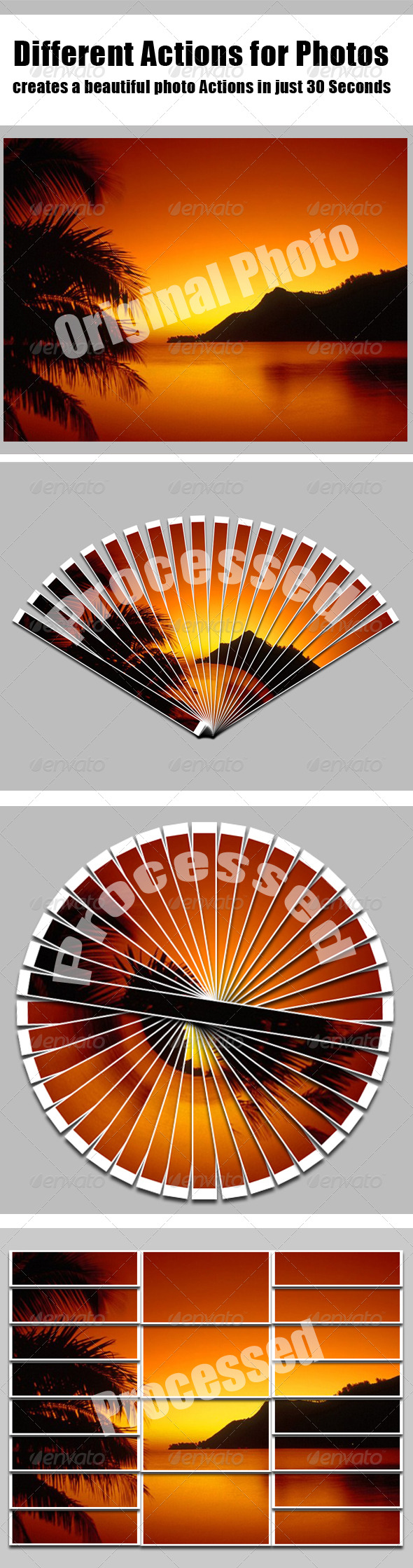 Add-ons : Different Actions for Photos GraphicRiver 216647 - Photoshop Actions Photo Effects