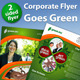 Corporate Flyer Green - GraphicRiver Item for Sale