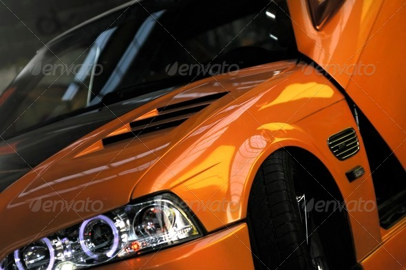 A car tuning dream - Stock Photo - Images