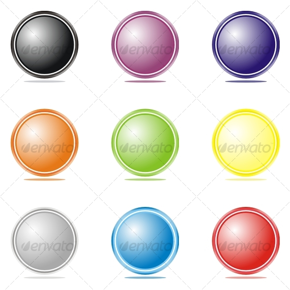 Set of color elements - Decorative Symbols Decorative
