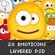 28 Gummy emoticons PACK - GraphicRiver Item for Sale