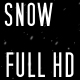Falling Snow LOOPABLE-FULL HD-ALPHA CHANEL - VideoHive Item for Sale