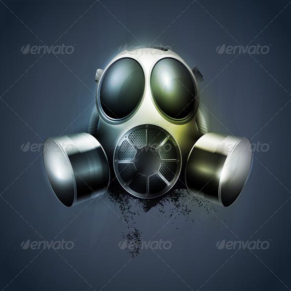 GraphicRiver Gas mask 218107