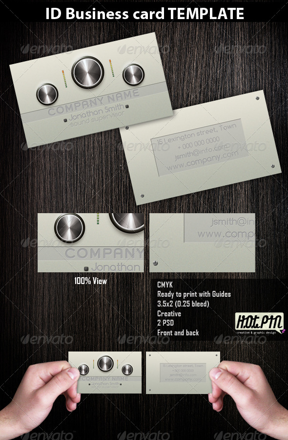 Dj/Producer/Musician Business Cards 2 - Industry Specific Business Cards