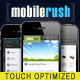 MobileRush Liquid Mobile Site Template - 6 Colors - ThemeForest Item for Sale