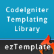 ezTemplate, a CodeIgniter library - CodeCanyon Item for Sale