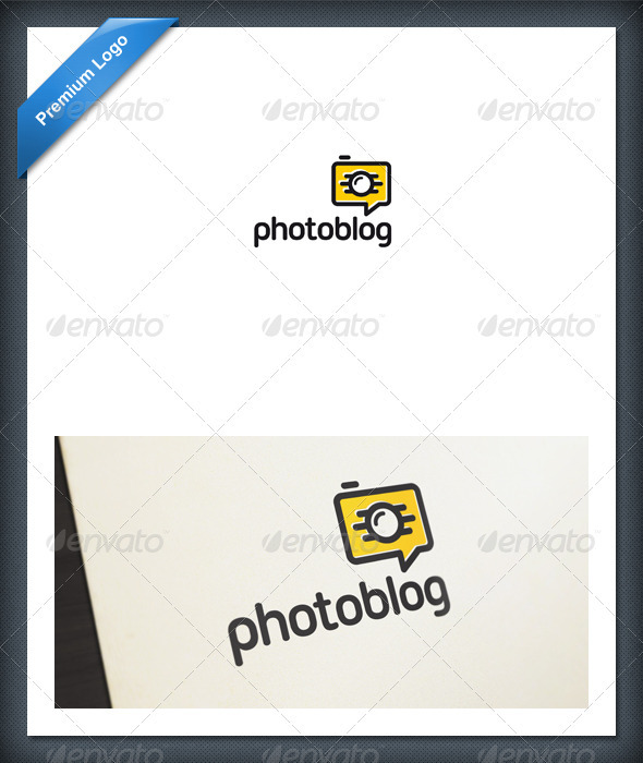 GraphicRiver Photo Blog and Chat Logo Template 1856825