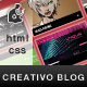 CREATIVO BLOG/PORTFOLIO (HTML/CSS) - ThemeForest Item for Sale