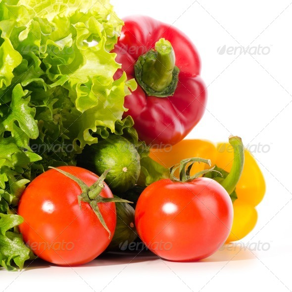fresh ripe vegetables - Stock Photo - Images