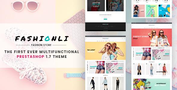 Fashionli – Fashion PrestaShop Theme