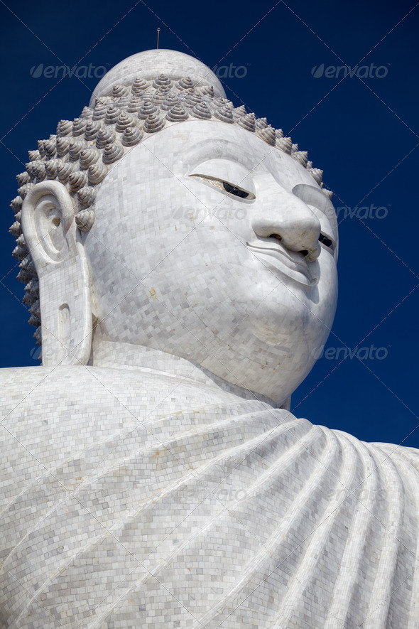 The Big Buddha Phuket - Stock Photo - Images