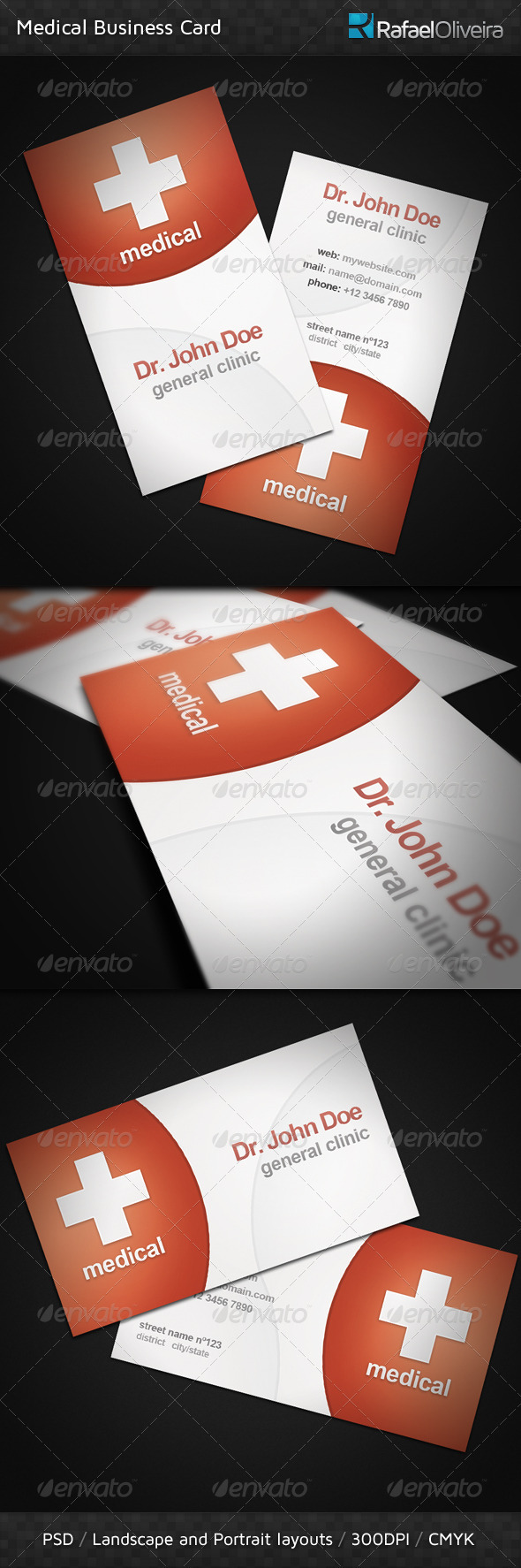 Medical Business Card - Corporate Business Cards