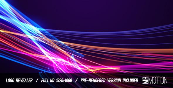 VideoHive Light Streaks Logo Revealer 1864277