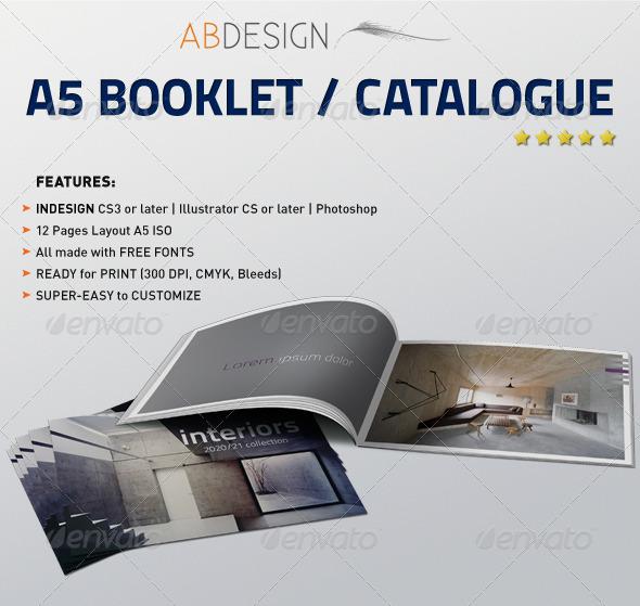 GraphicRiver A5 Booklet Catalogue 159393
