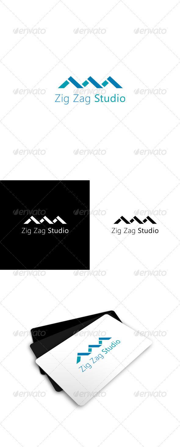GraphicRiver Zig Zag Studio Logo 521674