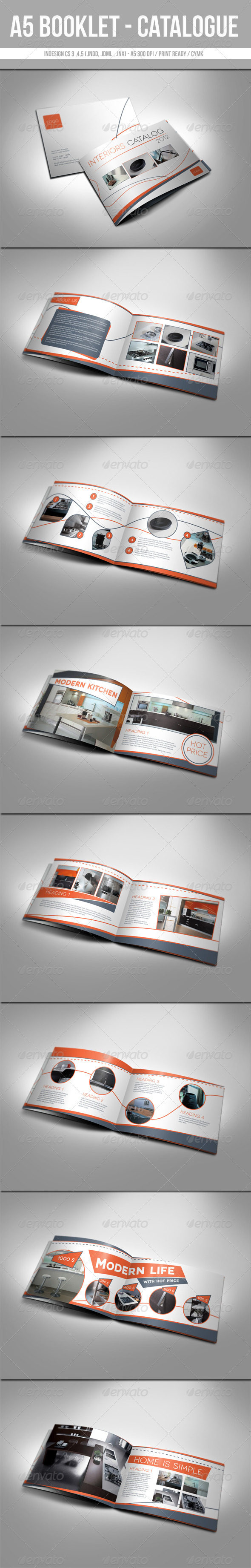 A5 Booklet - Catalogue  - Catalogs Brochures