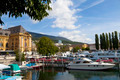 Neuchatel Harbor, Switzerland - PhotoDune Item for Sale