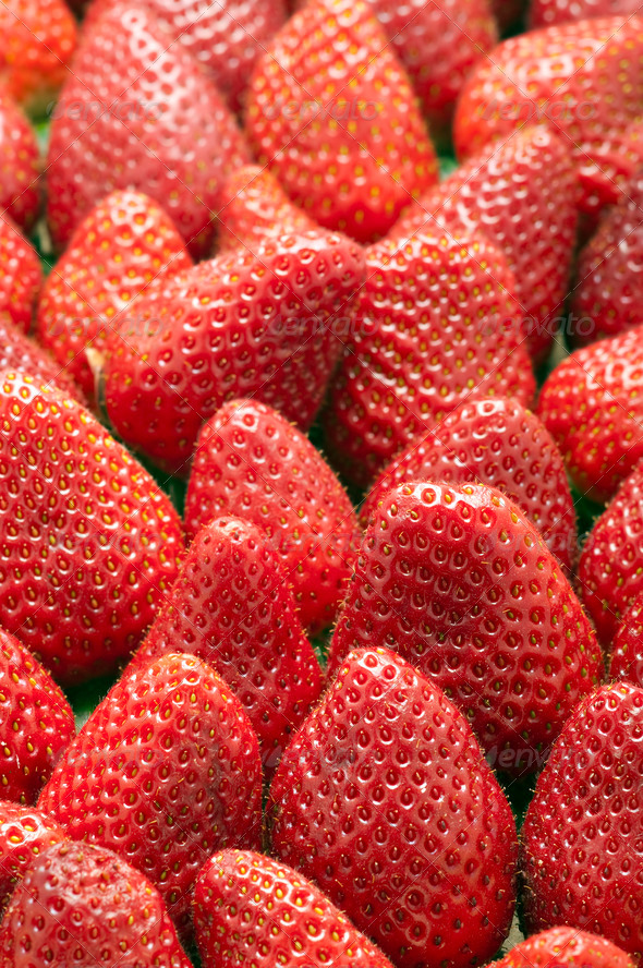 Fresh Strawberries - Stock Photo - Images