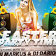 Easter Party Flyer Template v2 - GraphicRiver Item for Sale