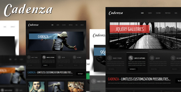 Cadenza - Portfolio Business HTML Template