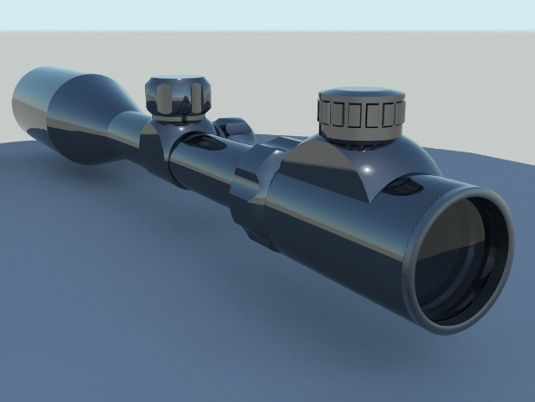 Sniper Scope - 3DOcean Item for Sale