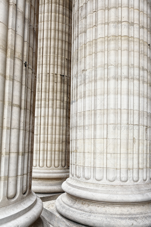 Classic columns - Stock Photo - Images