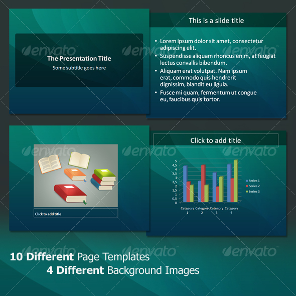 The Clean - Professional PowerPoint Template - Abstract Powerpoint Templates