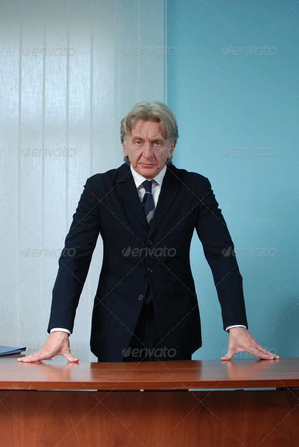 CEO at workplace - Stock Photo - Images