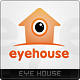 Eye House Logo Template - GraphicRiver Item for Sale