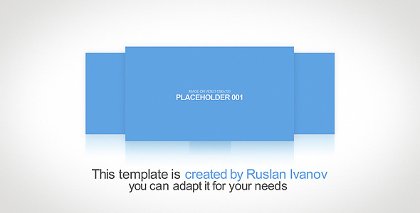 After Effects Project - VideoHive My Portfolio 1330777