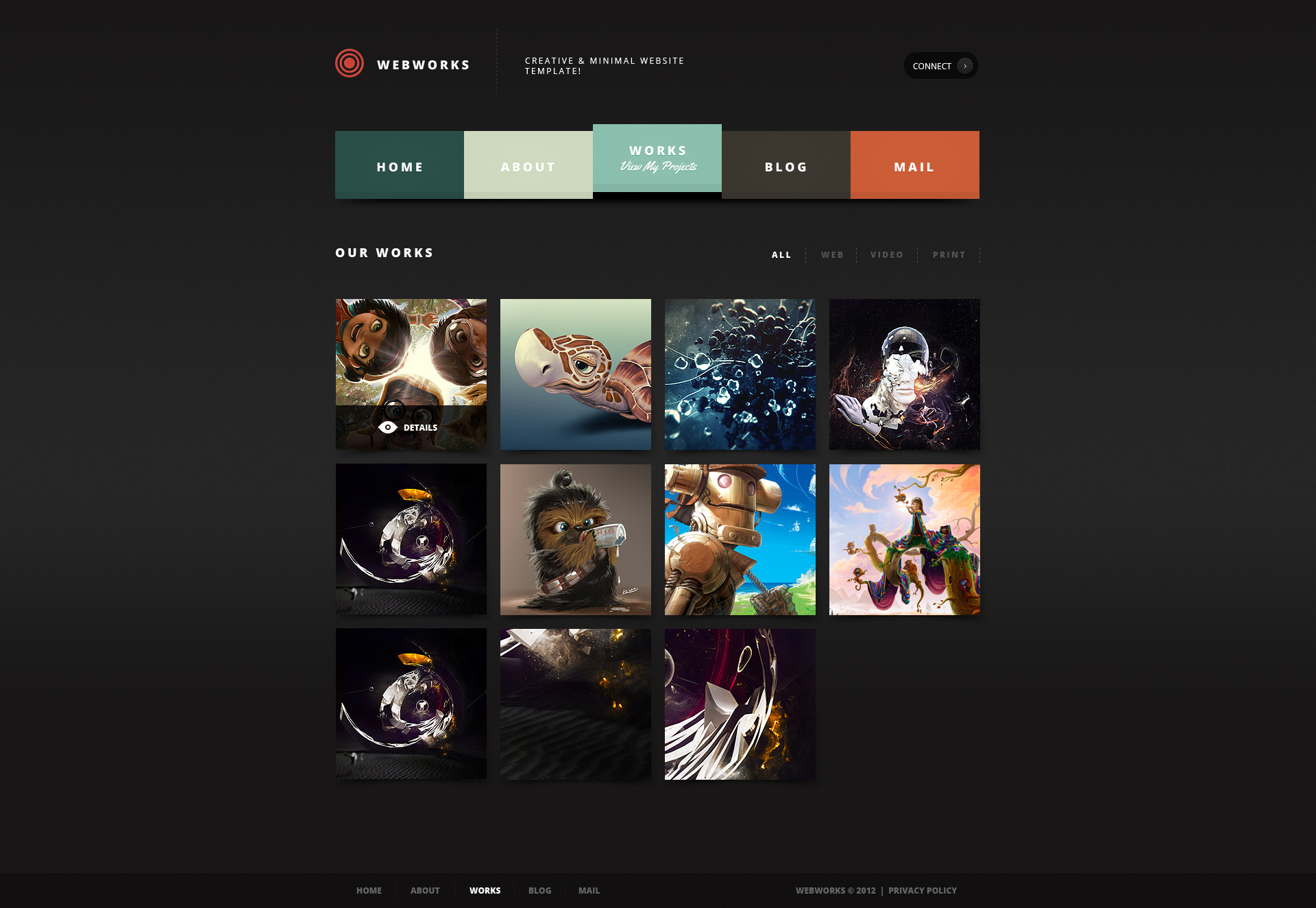 Webworks - Ultimate & Flexible Website Template