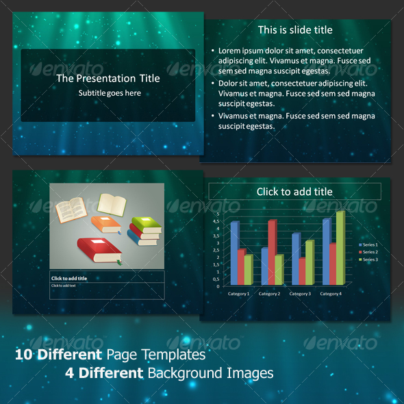 GraphicRiver Next Light Professional PowerPoint Template 72896