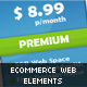 eCommerce Web Elements-Graphicriver中文最全的素材分享平台