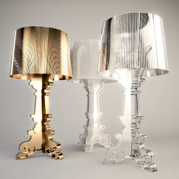 Kartell Bourgie - 3DOcean Item for Sale