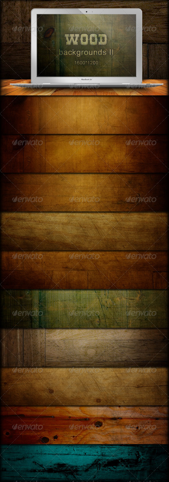 GraphicRiver Wood Backgrounds Grunge Grain 222765