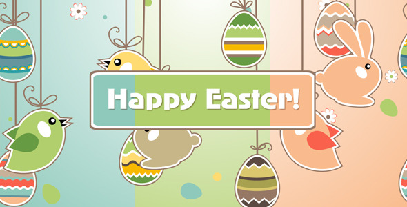 After Effects Project - VideoHive Easter Animation 1896622