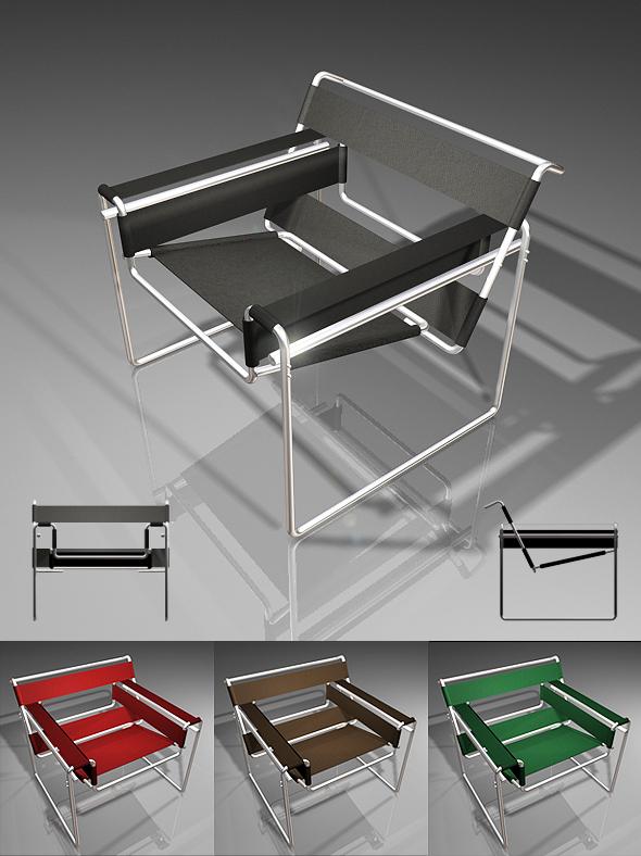 3DOcean Chair-01 71022