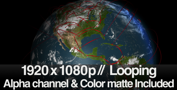 Stock Video - VideoHive Connecting the Globe LOOP 223237