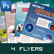 Modern Corporate Flyers / Magazine Ads - GraphicRiver Item for Sale