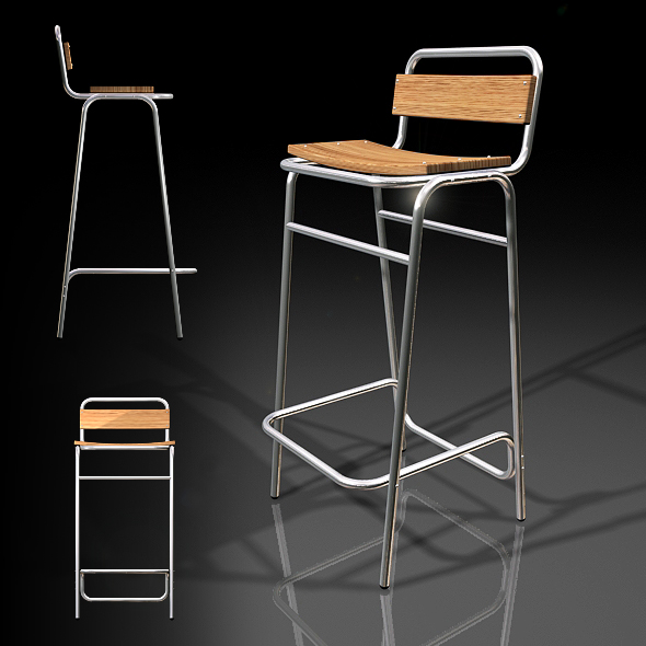 3DOcean MM Bar Stool 73659
