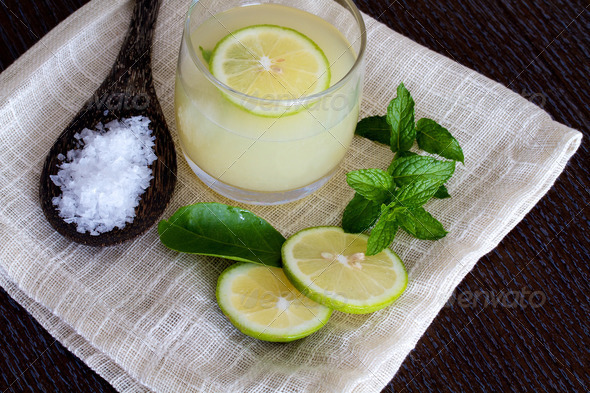 Mojito and ingredients - Stock Photo - Images