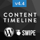 Content Timeline – Responsive WordPress Plugin for Displaying Posts/Categories in a Sliding Timeline