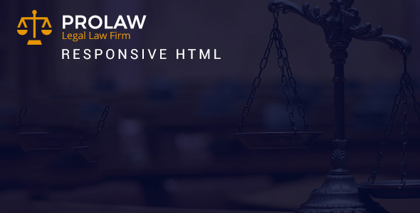 Prolaw Legal Law Firm Attorney Bootstrap Html Templates