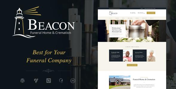 Beacon Funeral Home Wordpress Theme By Themerex Themeforest