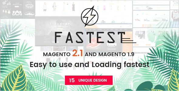 Fastest - Magento 2 themes & Magento 1.9 Multipurpose Responsive ...