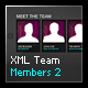 XML Team Members 2 - ActiveDen Item for Sale