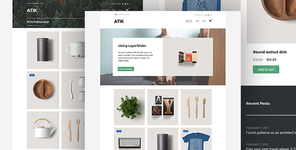 Image result for Atik - A Simple WordPress Theme