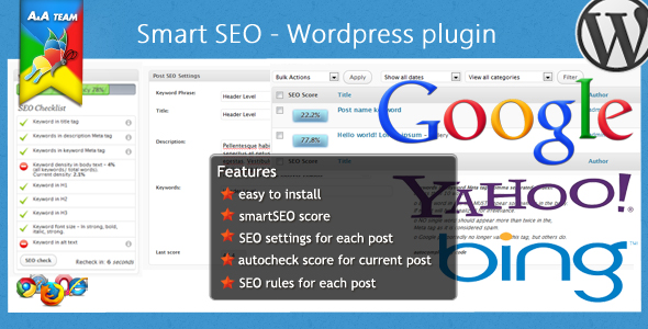 CodeCanyon smart SEO Wordpress Plugin 224446