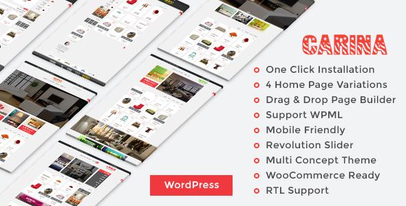 Carina WooCommerce WordPress Theme